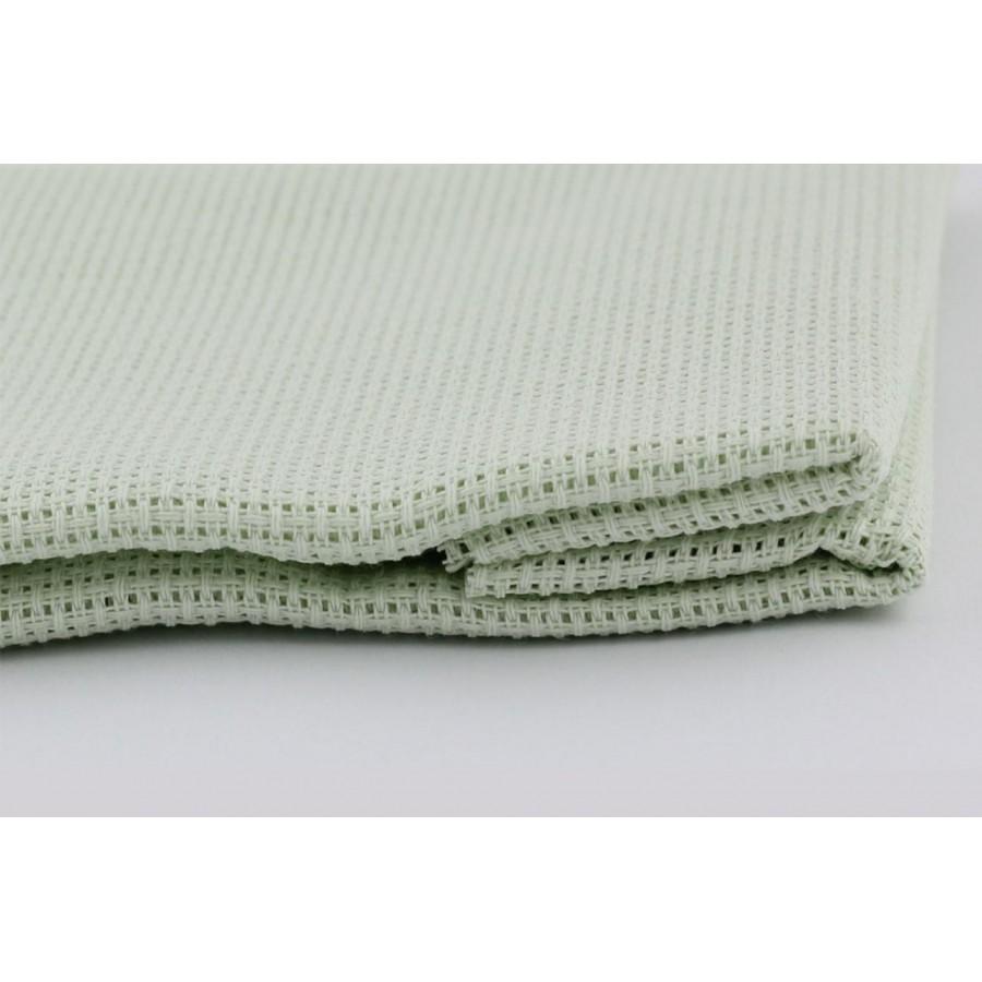 1 Pcs Dark Green Cotton Aida 14 ct 50x50cm