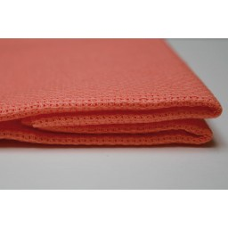 1 Pc Salmon orange Cotton Aida 14 ct 50 x 50cm