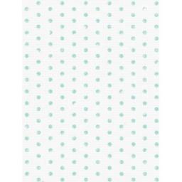 1 Pc Designer Fabric Aida 14ct 40x30cm KD14-072 light blue dots