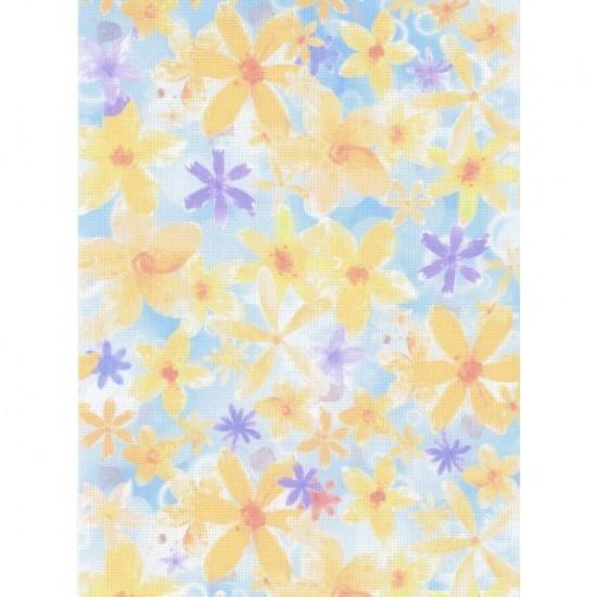 1 Pc Designer Fabric Aida 14ct 40x30cm KD14-138