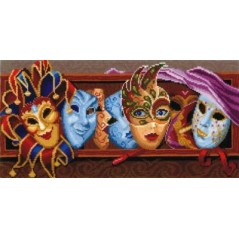 Cross Stitch Kit Masks M-24