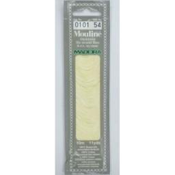 MADEIRA Six strand 100% cotton floss 10m Art. 017 Col. 0101