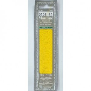 MADEIRA Six strand 100% cotton floss 10m Art. 017 Col. 0105