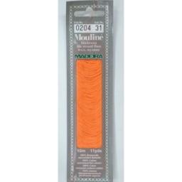 MADEIRA Six strand 100% cotton floss 10m Art. 017 Col. 0204