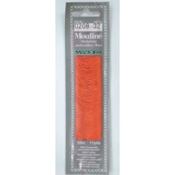 MADEIRA Six strand 100% cotton floss 10m Art. 017 Col. 0208