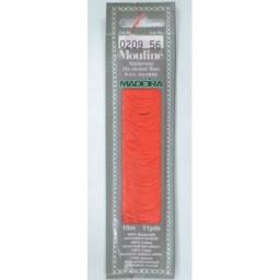 MADEIRA Six strand 100% cotton floss 10m Art. 017 Col. 0209