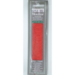 MADEIRA Six strand 100% cotton floss 10m Art. 017 Col. 0212