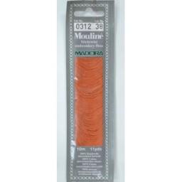 MADEIRA Six strand 100% cotton floss 10m Art. 017 Col. 0312