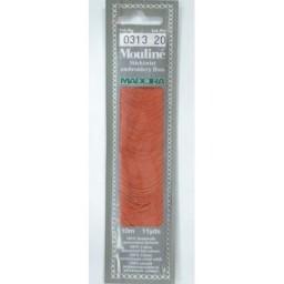 MADEIRA Six strand 100% cotton floss 10m Art. 017 Col. 0313