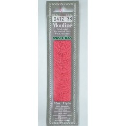 MADEIRA Six strand 100% cotton floss 10m Art. 017 Col. 0412
