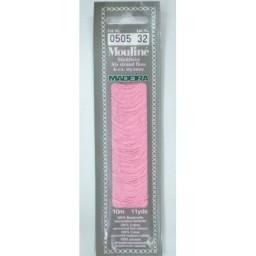 MADEIRA Six strand 100% cotton floss 10m Art. 017 Col. 0505
