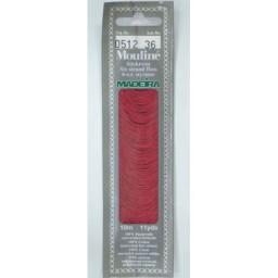 MADEIRA Six strand 100% cotton floss 10m Art. 017 Col. 0512