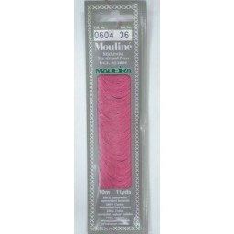 MADEIRA Six strand 100% cotton floss 10m Art. 017 Col. 0604