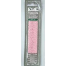 MADEIRA Six strand 100% cotton floss 10m Art. 017 Col. 0607