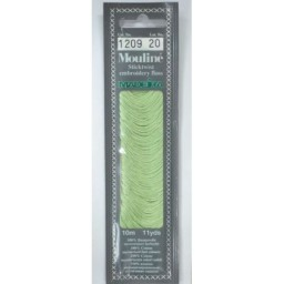 MADEIRA Six strand 100% cotton floss 10m Art. 017 Col. 1209