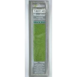MADEIRA Six strand 100% cotton floss 10m Art. 017 Col. 1407