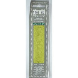 MADEIRA Six strand 100% cotton floss 10m Art. 017 Col. 1501