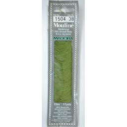 MADEIRA Six strand 100% cotton floss 10m Art. 017 Col. 1504
