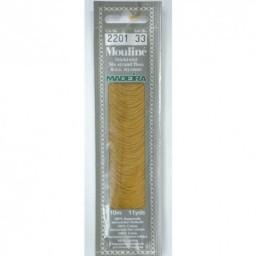 MADEIRA Six strand 100% cotton floss 10m Art. 017 Col. 2201