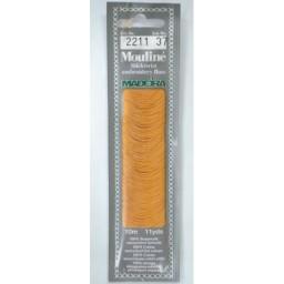 MADEIRA Six strand 100% cotton floss 10m Art. 017 Col. 2211