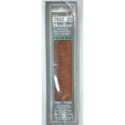 MADEIRA Six strand 100% cotton floss 10m Art. 017 Col. 2602