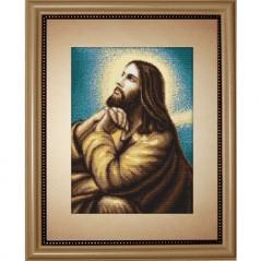 Cross Stitch Kit Jesus's Prayer B306