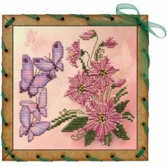 Postcard embroidery kit Fragrance OP7564-Y