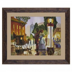 Cross Stitch Kit Parisian evening CP3210