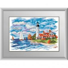 DIAMOND PAINTING KIT Seascape - lighthouse (square, full) 30149D