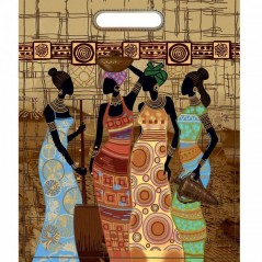 Sewing kit of Bag African beauties A1006