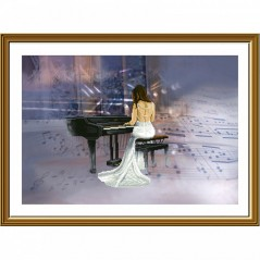 Cross Stitch Kit Melody CP3259