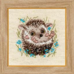 Cross Stitch Kit Little Hedgehog art. 1753