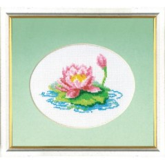 Bead embroidery kit Lotus B-003