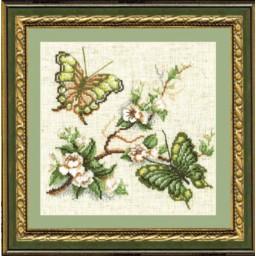 Cross Stitch Kit Garden fragrance-Butterflies art. 191