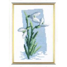 Cross Stitch Kit Snowdrops art. 339
