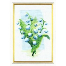Cross Stitch Kit Lily of the valley art. 340