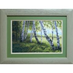 Cross Stitch Kit Birch forest art. 466