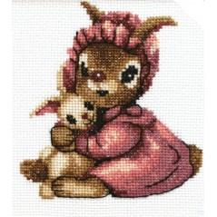 Cross Stitch Kit Bunny A-080