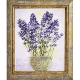 Cross Stitch Kit Lavender M-277
