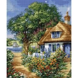 Cross stitch kit Summer Landscape BU5000