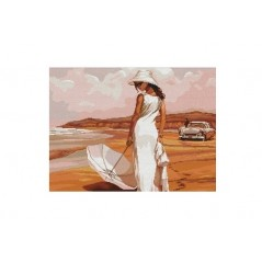 Cross Stitch Kit Beach A-0003