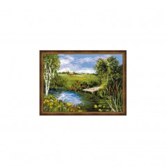Cross Stitch Kit By the river art. 1468
