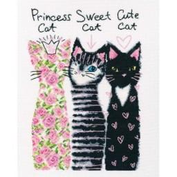 Cross Stitch Kit Friends Cats M739