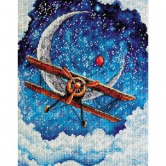 Cross Stitch Kit Above the clouds AH-093