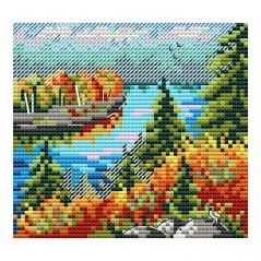 Cross stitch kit Autumn Forest M-615