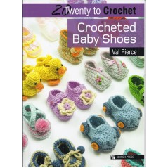 20 Twenty to Make: Crocheted Baby Shoes