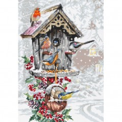 Cross Stitch Kit Bird House B2399