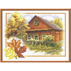 Cross stitch kit Rural Autumn PS-0314