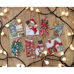 Cross stitch kit Christmas Toys 2 L8002