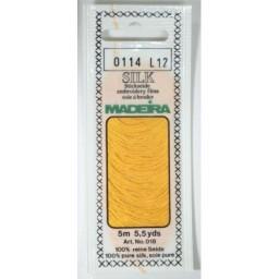 MADEIRA Silk embroidery floss 5m Art. 018 Col. 0114